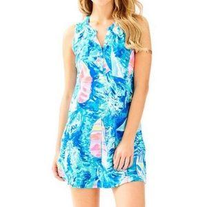 Lily Pulitzer Essie Dress Hay Bay Bay Print